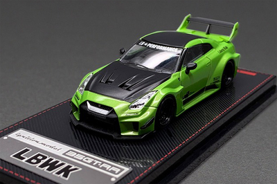 1/64  LB-Silhouette WORKS GT Nissan 35GT-RR Green Metallic