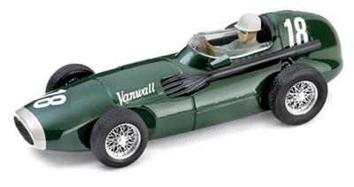 1/43ヴァンウォール F.1 1957年イギリスGP 1位 #18 Stirling Moss/Tony Brooks  ドライバーフィギュア付