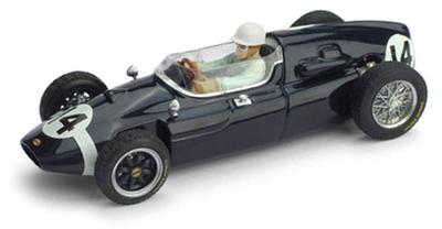 1/43 クーパー T51 1959年イタリアGP 1位 #14 Stirling Moss Rob Walker Racing Team   ドライバーフィギュア付