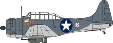 1/72ダグラス ドーントレス VMSB-233 シスター ガダルカナル 1943