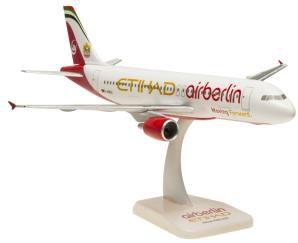 A320 エア・ベルリン ランディングギアなし・スタンド付属