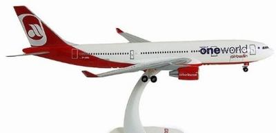 A330-200 エア・ベルリン 「one world」 ランディングギア/スタンド付