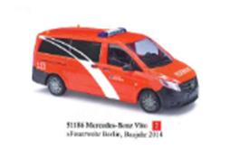 """1/87メルセデス・ベンツ ヴィトー """"ベルリン消防署"""" 2014"""