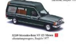 1/87メルセデス ベンツ VF 123 Miesen 霊柩車 1977
