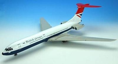ビッカース VC-10 ブリティッシュ・エアウェイズ(G-AVRM) 1977年ロンドン・ヒースロー空港