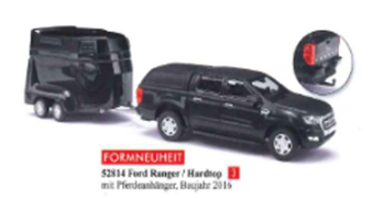 1/87フォード レンジャー ハードトップ (馬運車付き) 2016