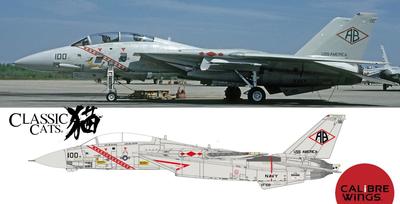 1/72 F-14A VF-102 ダイヤモンドバックス 159466