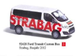 """1/87フォード トランジット カスタムバス """"STRABAG"""" 2012"""
