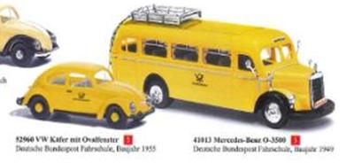 """1/87メルセデス O-3500 """"ドイツ郵便サービス自動車教習所"""" 1949"""