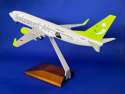 1/130 737-800 ソラシドエアー くまモン号 JA805X 木製スタンド仕様