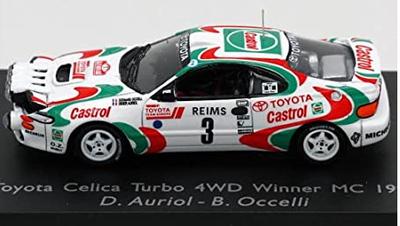 87S023 トヨタ セリカ 1993年WRCラリー・モンテカルロ優勝