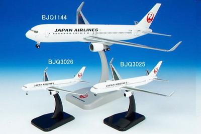 B767-300 日本航空 ウイングレット付  ダイキャスト