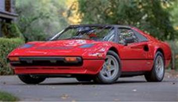 1/18フェラーリ 308 GTS 1982 レッド