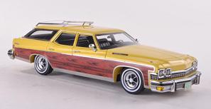 1/43  ビュイック ルセイバー 4ドア ステーションワゴン 1974 イエロー/ウッド