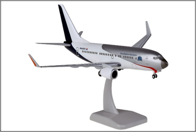 1/200  B737-700WW オランダ政府専用機 ランディングギア・スタンド付属
