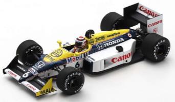1/43  Williams FW11B No.6 Winner Hungary GP 1987       Nelson Piquet