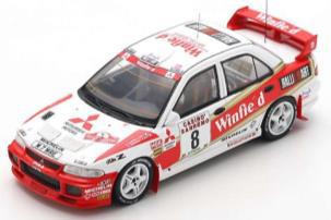 1/43  Mitsubishi Lancer Evolution Ⅲ No.8 8th Rally San Remo 1996     Didier Auriol - Denis Giraudet