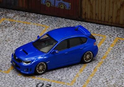 1/64  スバル 2009 インプレッサ WRX ブルー (RHD)