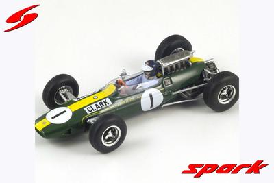 1/43  ロータス33 NO.1 優勝ドイツGP 1965   Winner ジム・クラーク