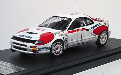 1/43  トヨタ セリカ ターボ 4WD ST185 1992 ツールドコルス #1 C.サインツ