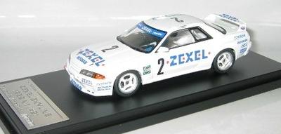 1/43  ZEXEL SKYLINE #2 1992 N1