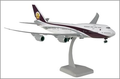 1/200  B747-8 カタール・アミリフライト ランディングギア・スタンド付属