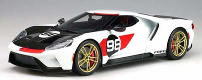 1/18  フォード GT #98 ヘリテージエディション (ホワイト) US Exclusive
