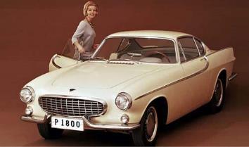 1/43ボルボ P1800 1963 ベージュ