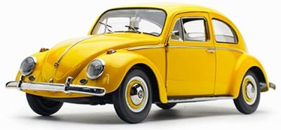 """1/12 VW ビートル サルーン 1961  イエロー"""""""