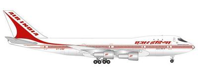 "1/500  B747-200 エアインディア 50 Years of 747 Introduction VT-EBE ""Emperor Shahjehan"""