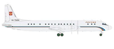 1/200  IL-18 ロシア航空 RA-75454