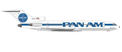 """1/200  B727-200 パンアメリカン航空 N4738 """"Clipper Electric"""" Billboard with cheatline test livery"""