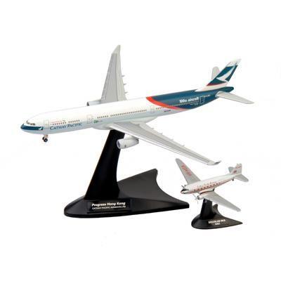 MKACNP4 「Niki」&「Progress Hong Kong」ペアセット DC-3 & A330-300
