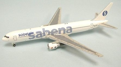 B767-300 (OO-SBY) サベナ・ベルギー航空 ベルギー