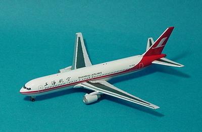 B767-300 (B-2500) 上海航空(SHANGHAI AIRLINES) [ 限定504個 ]