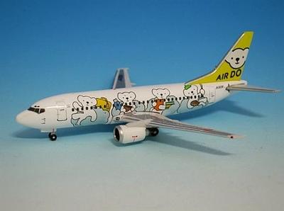 B737-500 ベアドゥ ドリーム号  AIR DO