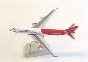 B747-400 オアシス香港航空 (スタンド付) 中国