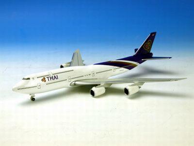 B747-8 タイ国際航空  (地上姿勢/スタンド無)