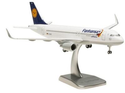 """A320-200 ルフトハンザドイツ航空 """"Fanhansa"""" ランディングギア・スタンド付属"""