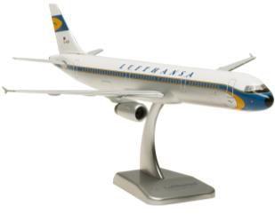 A321 ルフトハンザドイツ航空 レトロカラー ランディングギアなし・スタンド付属
