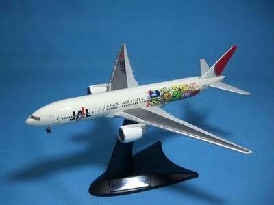 B777-200 日本航空「たまごっちジェット」 (JA007D)