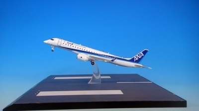 MRJ90  ANA 塗装 名古屋空港 Take Offベース付