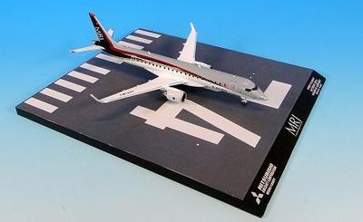 MRJ90 JA21MJ 飛行試験機初号機 名古屋空港RWY34ベース付 機番MRJ90 JA21MJ