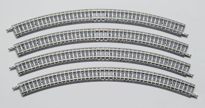 Tomix カーブPCレール C280-45(F) 4本セット