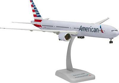 B777-300ER アメリカン航空 WiFiレドーム付き ランディングギア・スタンド付属