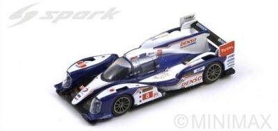 Toyota TS030 Hybrid N.8 2nd Le Mans 2013  S.Buemi - A.Davidson - S.Sarrazin