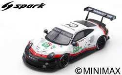 Porsche 911 RSR No.93 Porsche GT Team 24H Le Mans 2018
