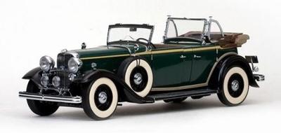 フォード リンカーンKB 幌なし 1934  キウォニー グリーン
