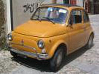 フィアット 500L 1968 Positano イエロー