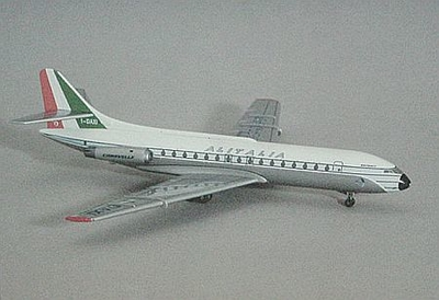 SUD AVIATION SE CARAVELLE Ⅲ ALITALIA AIRCRAFT
